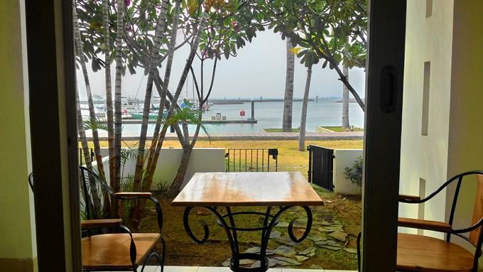 インドネシア・バタム島のリゾートホテルからの景色