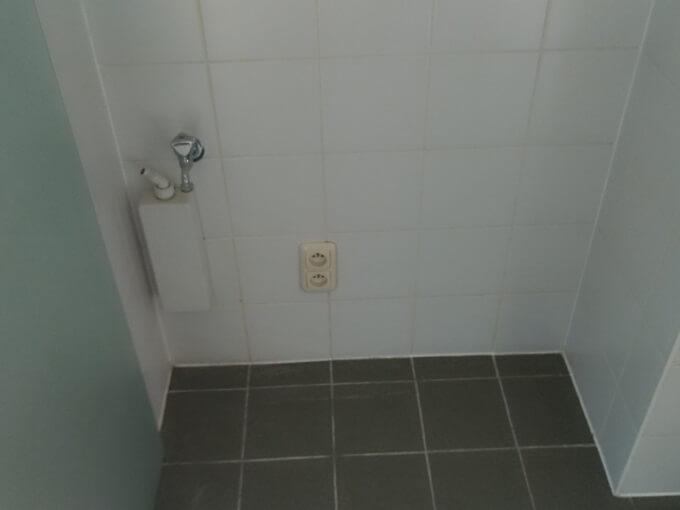 洗濯機設置スペース