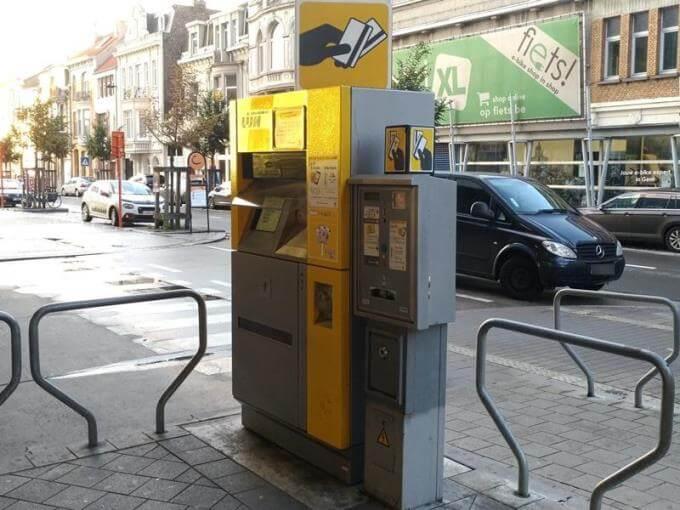 De Lijnの自動券売機