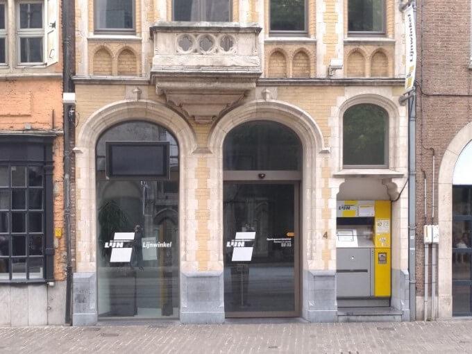 ベルギー版みどりの窓口
