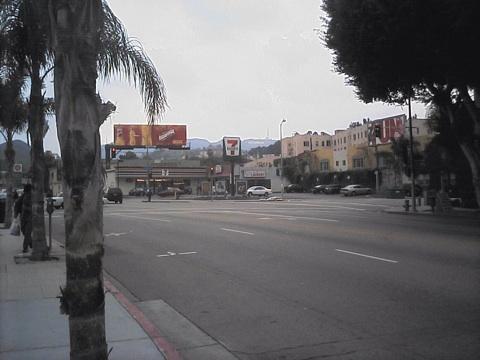 ハリウッドのセブンイレブン