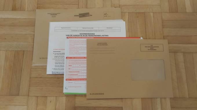 確定申告書の封筒