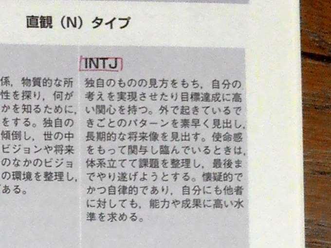 INTJの性格