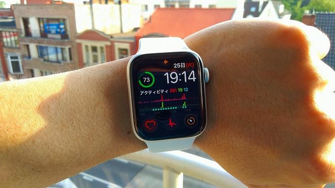 Apple Watch基本画面
