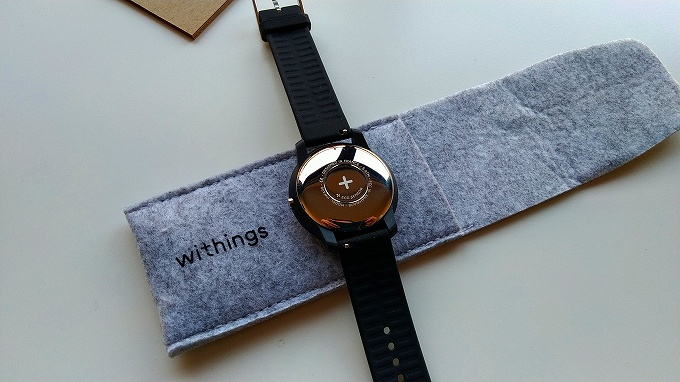 Withings Move ECG裏面