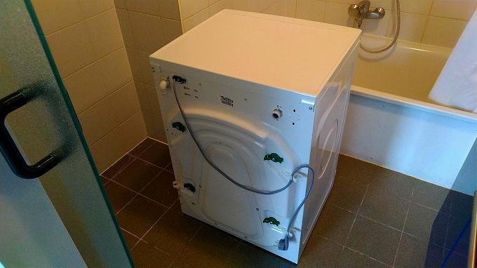 処分した洗濯機