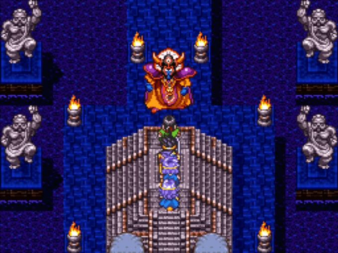祭壇でゾーマと初対面