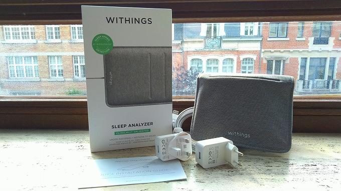 Withings Sleep Analyzer 外観とアクセサリー